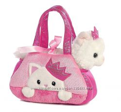 Aurora World Fancy Белый котенок в сумке Aurora