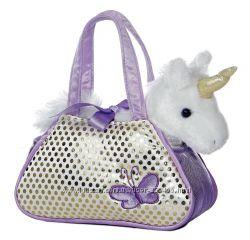 Aurora World Fancy Плюшевый единорог в сумке