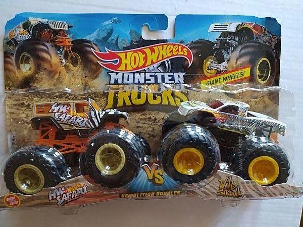 Hot Wheels Monster Trucks Хот вилс монстер тракс