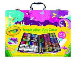 Crayola Inspiration Art Case Набор Крайола для творчества 140 предметов, ро