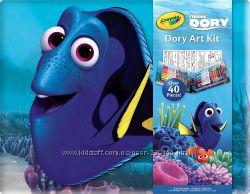 Crayola Finding Dory Набор для рисования Крайола 40 предметов
