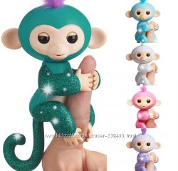 WowWee Fingerlings Interactive Monkey Оригинал Интерактивная обезьянка