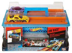 Hot Wheels Race Case Track Хот вилс переносной кейс с пусковой установкой