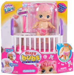 Интерактивная кукла Биззи бубс Грейс Little Live Bizzy Bubs Baby Gracie