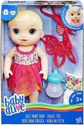 Baby Alive Face Paint Fairy Кукла пупс фея разрисуй лицо