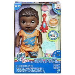 Baby Alive Super Snacks Luke Пупс мальчик афроамериканец