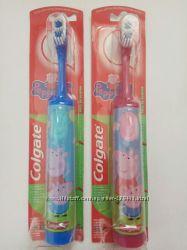 Colgate Peppa Pig Kids Детская зубная электрическая щетка свинка Пеппа пиг