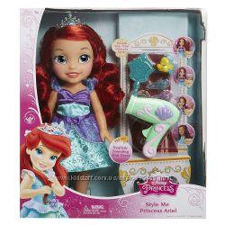 Disney Princess Style Me Princess Ariel Кукла Ариель 35см с феном