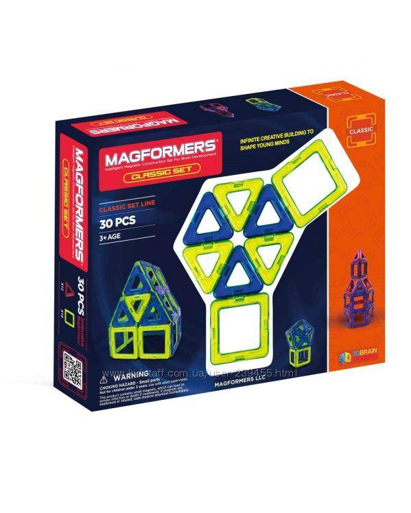 Magformers Classic 30 Магнитный конструктор Магформерс