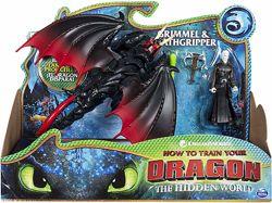 Deathgripper and Grimmel Дракон мертвая хватка и всадник Громмель Как приру
