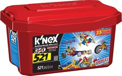 Конструктор кнекс KNEX 521 деталь 35 моделей