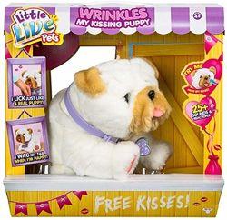 Little Live Pets My Kissing Puppy Wrinkles Интерактивный щенок