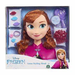 Frozen Anna Styling Head Манекен голова для причесок Анна