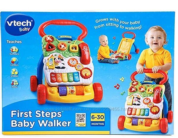 VTech First Steps Baby Walker Витеч ходунки толкатель