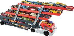 Автовоз Mega Hauler для 50 машинок Hot Wheels, оригинал США