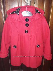 Шерстяное пальто next 98-104р
