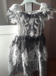 Платье на Хэллоуин на 4 - 6 года