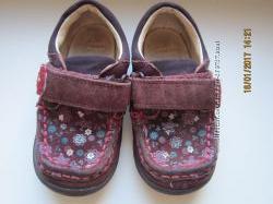 туфельки-мокасинки walkmates 14см и туфли CLARKS 6F 14см