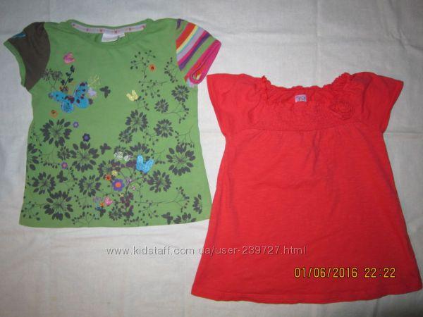 футболки, майки на 3-4года