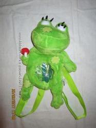 рюкзак-лягушка-игрушка