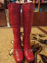 Красные сапожки