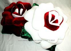 Подушка-роза-красивый подарок
