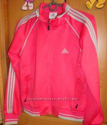 Спортивная коралловая кофта Adidas р. M