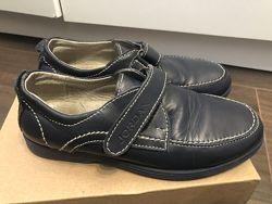 Кожаные туфли Jordan стелька 19см