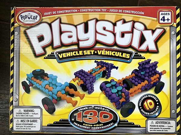 Конструктор Vehicle Set от Playstix с платформой для сборки