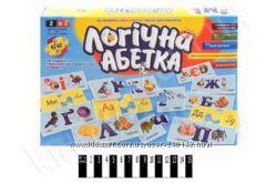 Настільні розвиваючі ігри Ерудит, Логічна абетка, Vladi Toys
