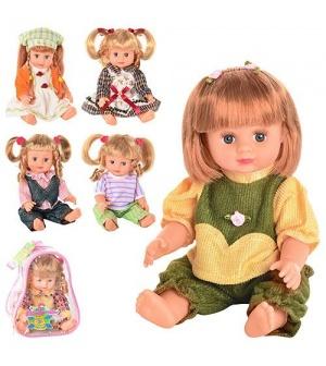 Кукла Оксаночка в рюкзаке, муз. , 6 видов