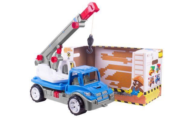 Іграшка Автокран ТехноК, арт. 3695 та 3893