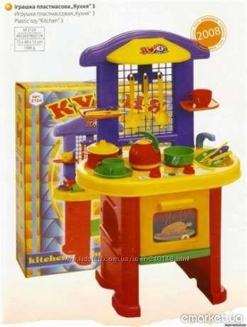 Детская кухня большая 75см ТМ ТехноК, кухня-3
