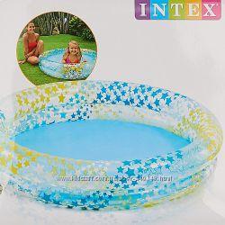 Детский надувной бассейн Звезды Intex 59421