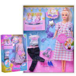 Кукла Defa Lucy 18020 и 8009, 8356 беременная