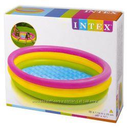 Детский бассейн Intex 57422 Радуга, 58924, 57421