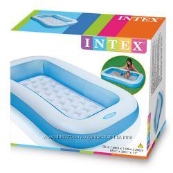 Детский надувной бассейн Intex 57403, 166х100х28 см