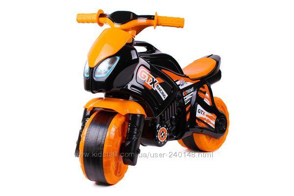Мотоцикл ТехноК, расцв. в ассортим. 5767, 5118, 5125, 5859. Новинка  лета