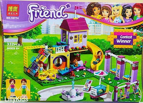Конструктор Bela Friends 10774 Игровая площадка Хартлейк Сити , 332 дет&820