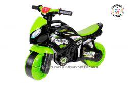 Мотоцикл Технок  5774, 5781, 6368 3 цвета, музык.