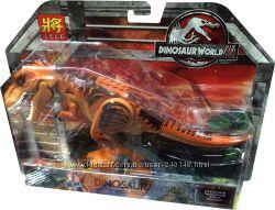 Конструктор-фигурка Динозавр  Парк Юрского периода Тиранозавр и Индоминус3