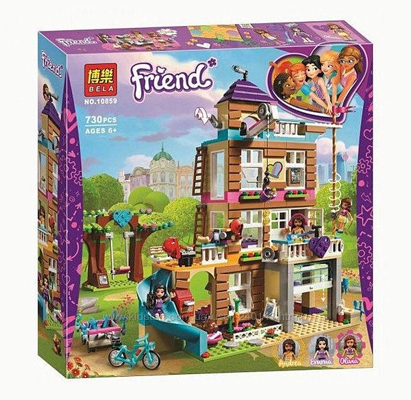 Конструктор Bela Friends 10859 Дом дружбы , Lele 37112