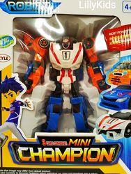 Робот трансформер Tobot mini Champion 3 в 1, 529