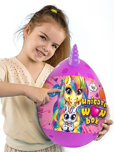Набір для творчості Unicorn wow box UWB-01-01u, Danko Toys