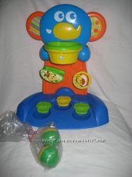 Развивающая игрушка Слоненок баскетбол шарики