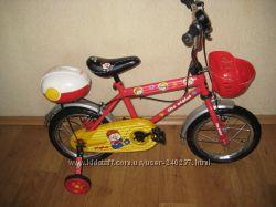 Легкий двухколесный детский велосипед Geoby JB DB 1410QX