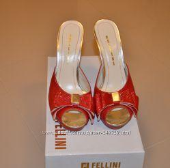 Сабо  Fellini кожанные р. 37