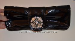 Клатч вечерний шикарный кожаный Luxax  Испания