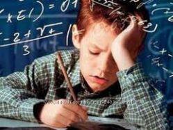 Уроки математики, физики, химии на дому, контрольные работы