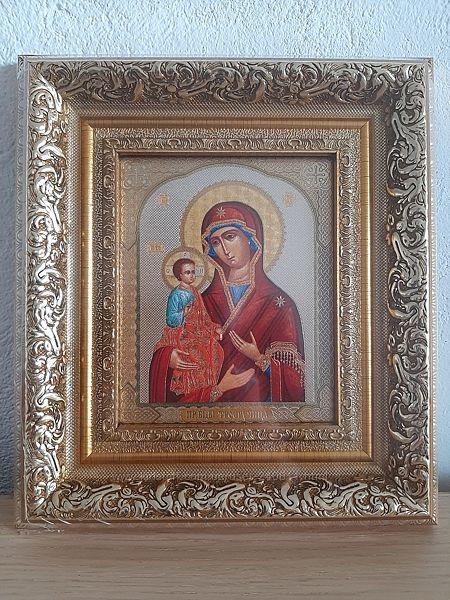 Икона Пресвятая Богородица Троеручница